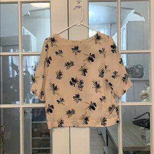 Amour Vert conversational print blouse